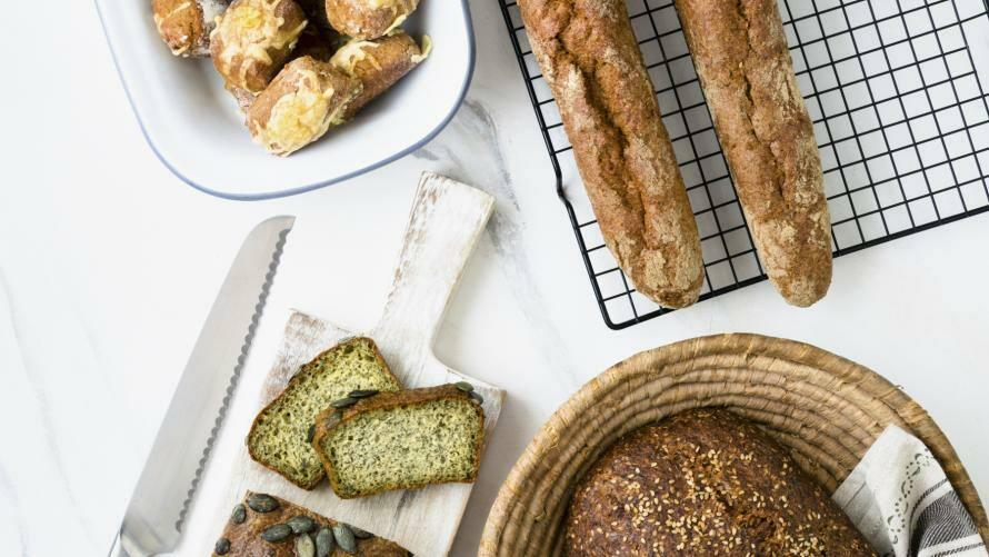 Low Carb Brot und Gebäck