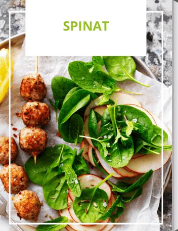Spinat-Rezepte für jeden Tag